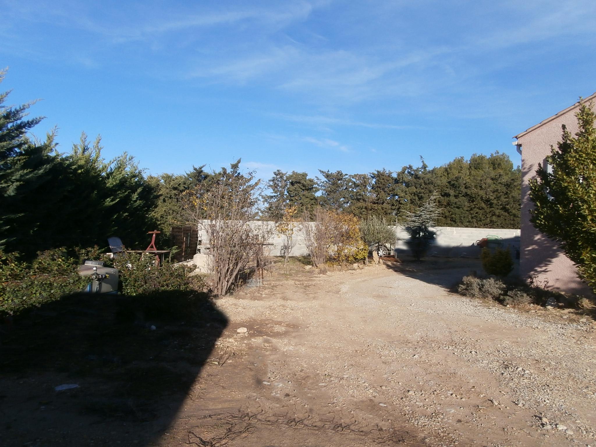 Permis de construire garage agricole Rasteau