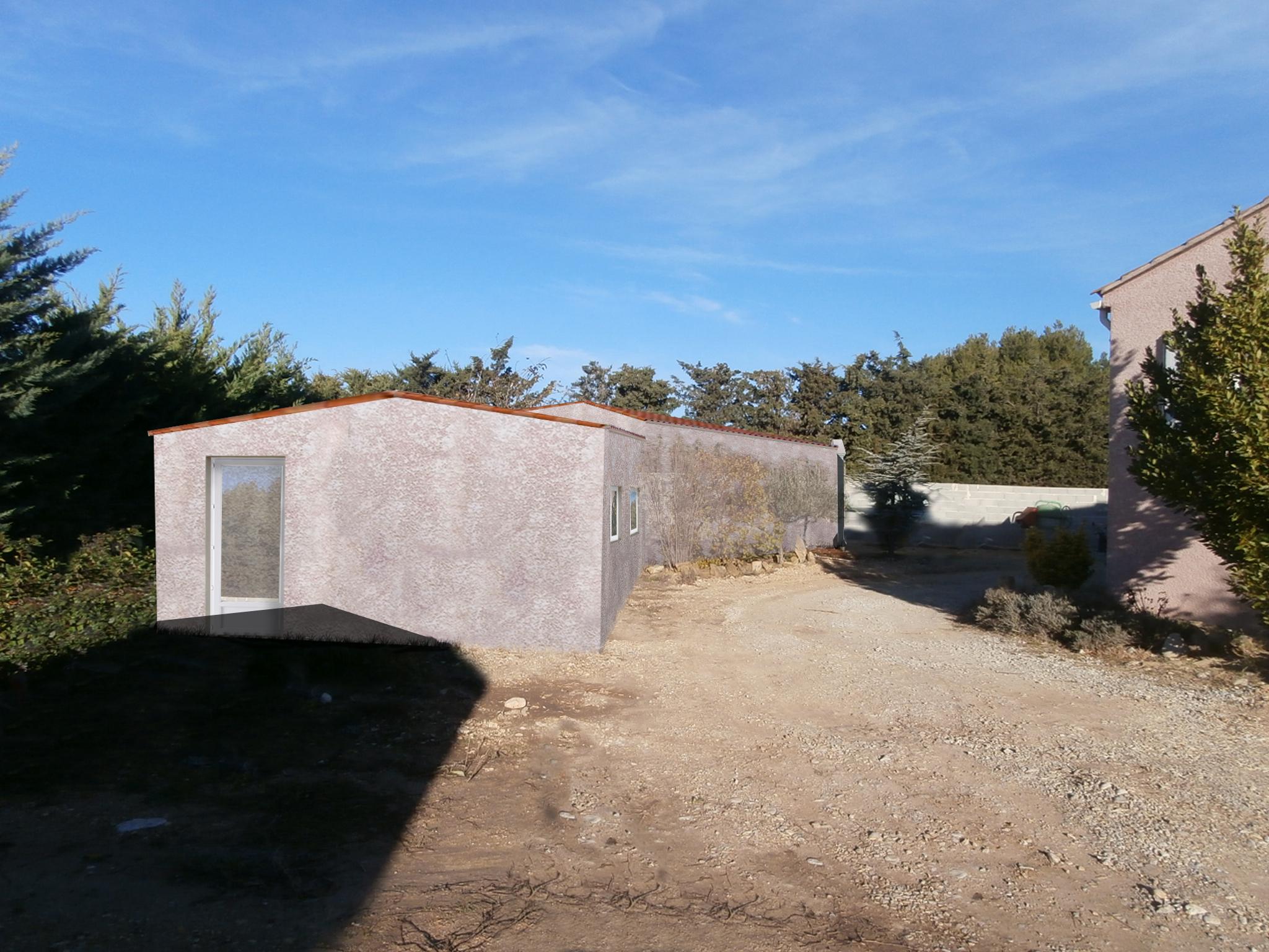 Permis agricole garage Rasteau