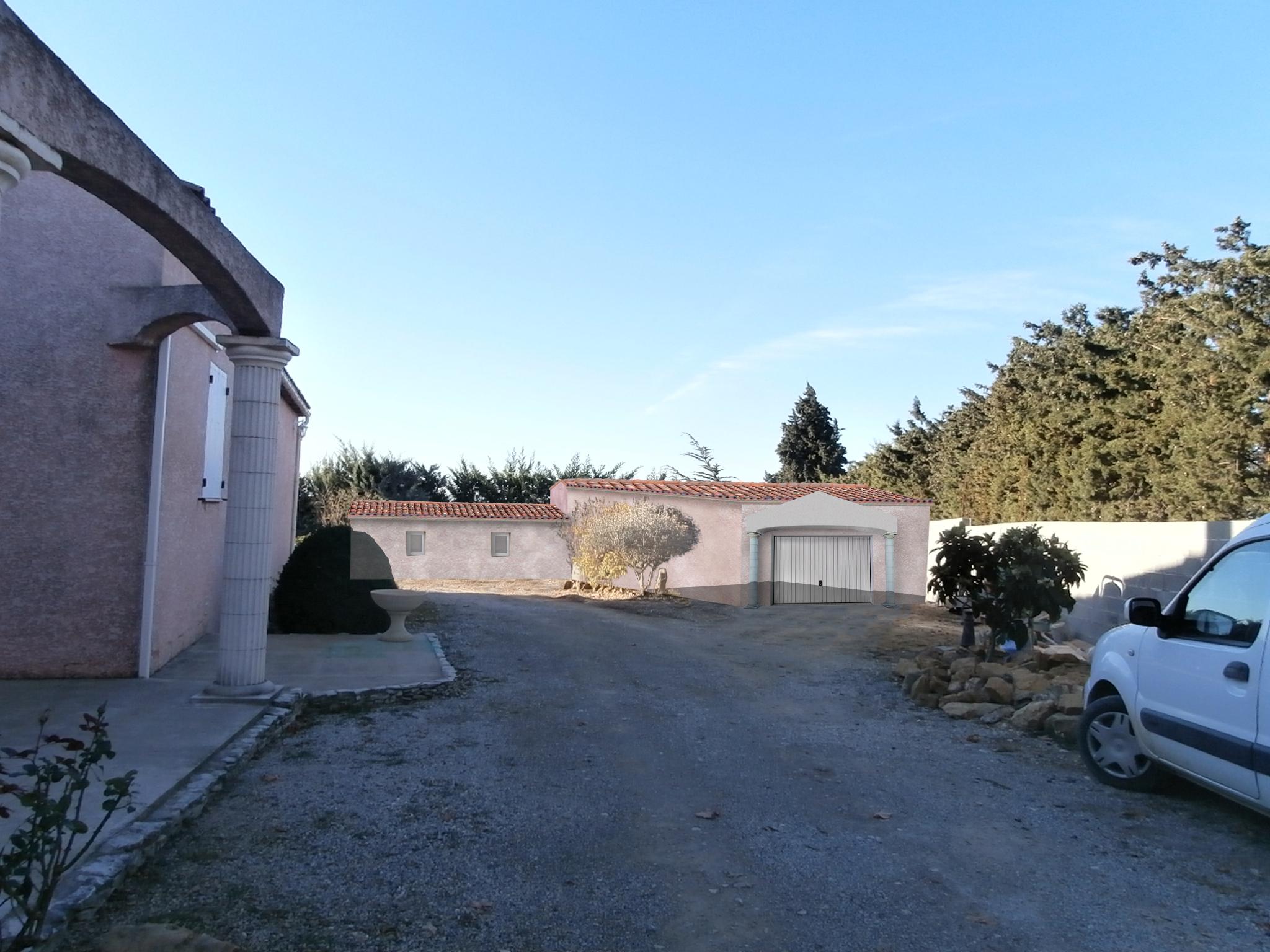 permis de construire garage Rasteau