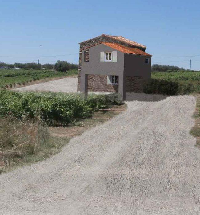 insertion paysagère permis de construire agricole Puymeras