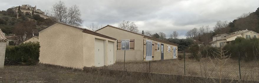 changement destination habitation Entrechaux