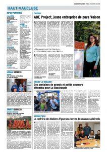 ABE Project dans la Presse