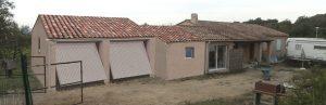 une Déclaration Préalable St Roman de Malegarde Extension et Garage
