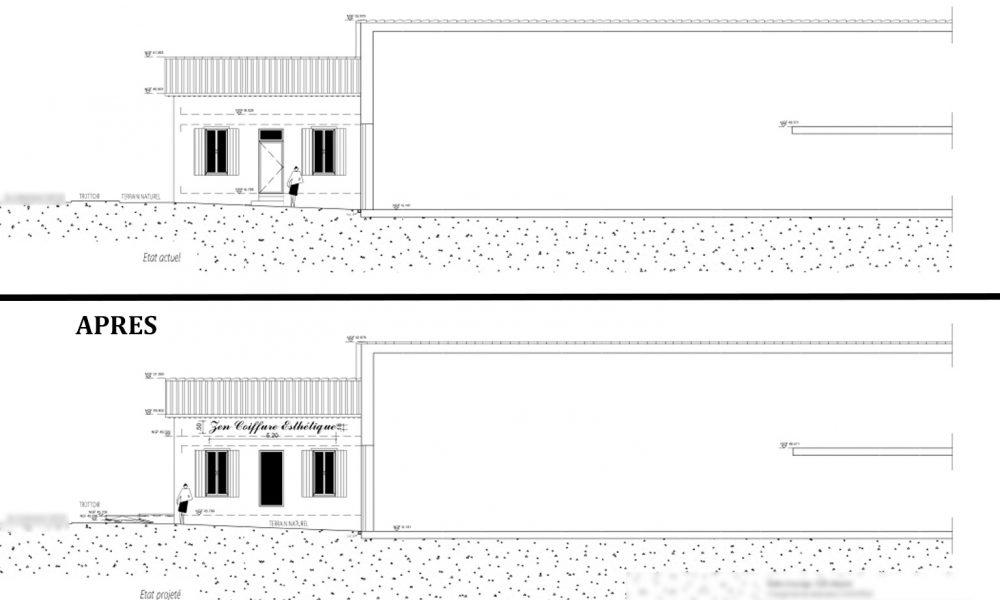 transformation appartement en ERP a Monteux