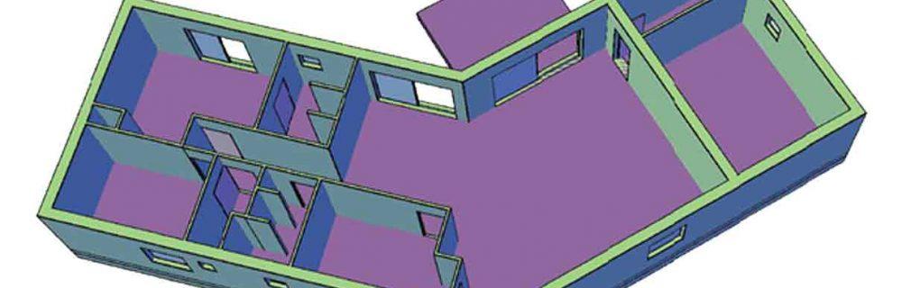 Plans 2D et 3D permis de construire Corse du Sud