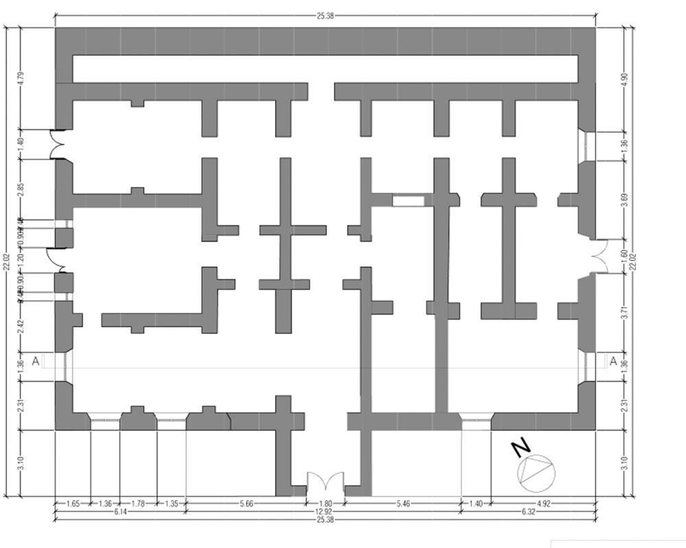 transformation d 39 un local en restaurant sorgues vaucluse par abe project. Black Bedroom Furniture Sets. Home Design Ideas
