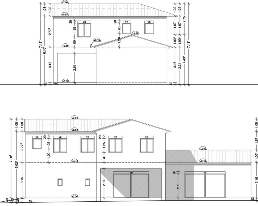 construction habitation en Avignon