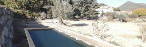 déclaration d'une piscine à Puyméras