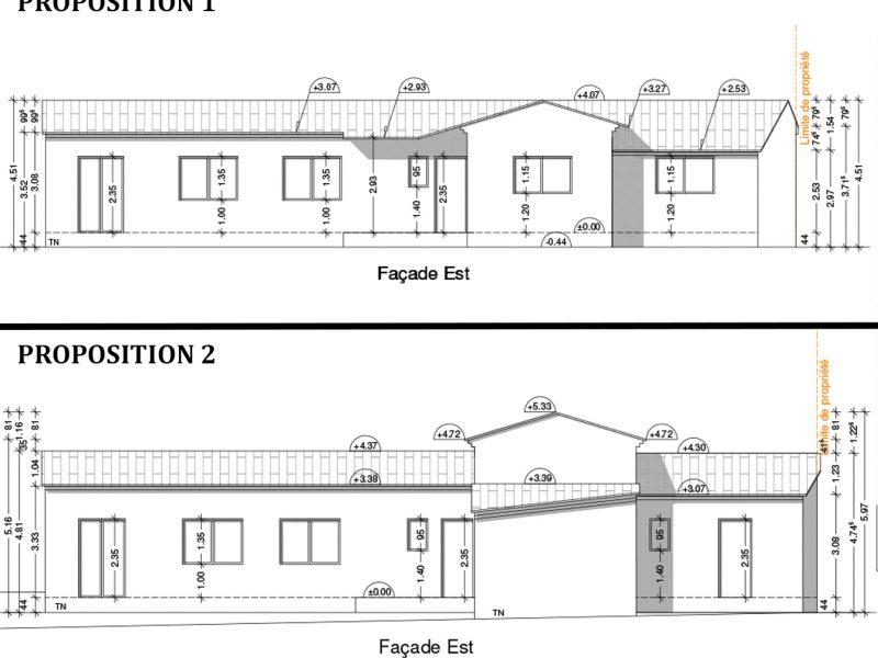 Permis de construire pour maison à Piolenc