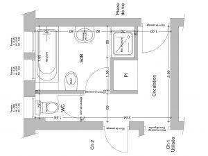 aménagement salle de bain a St Marcellin les Vaison