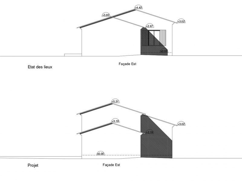 Déclaration préalable pour extension Pernes les Fontaines (84)