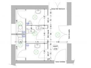 Surréaliste Aménagement Accessible Handicapé de Sanitaires St Romain en Viennois SA-04
