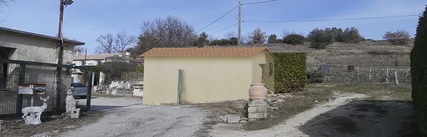 Rénovation d'un Garage à St Romain en Viennois