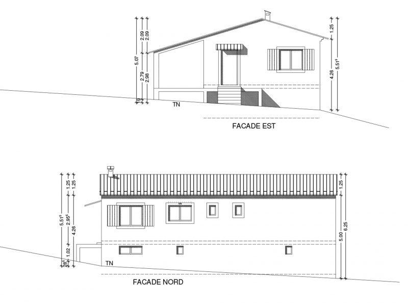 Conception maison à Faucon 88m2