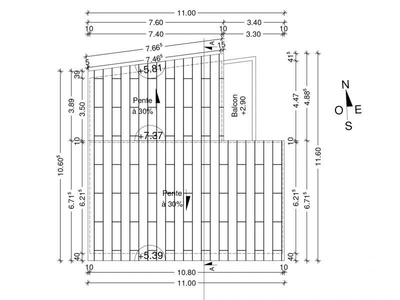 Permis de Construire a Faucon en Foret