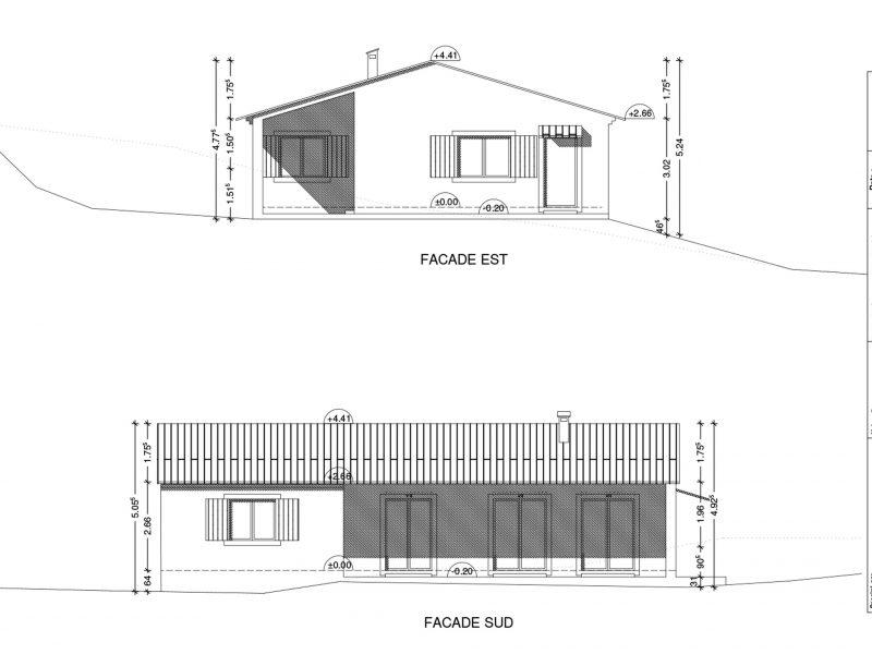 Permis de construire maison individuelle Faucon