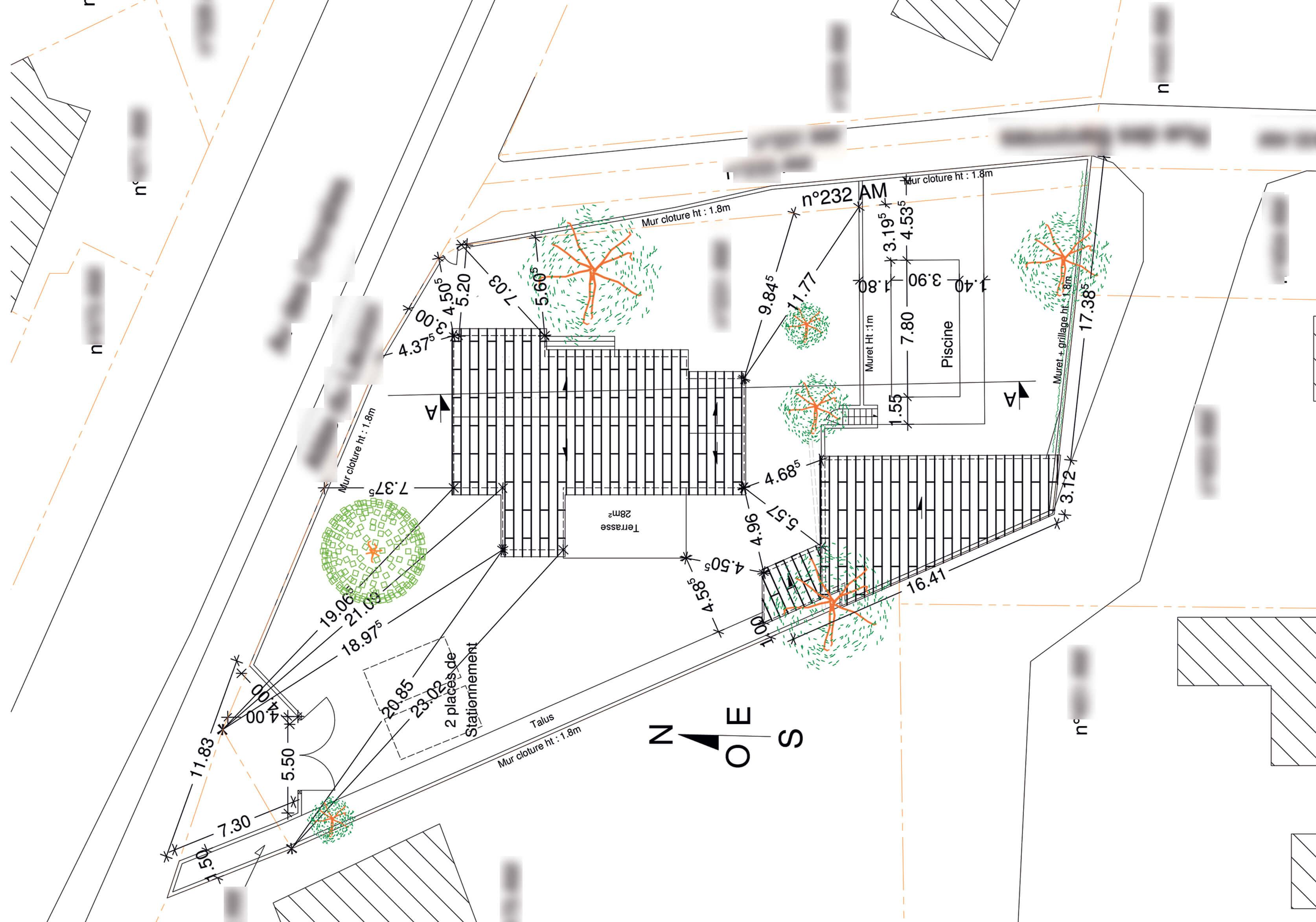 extension permis de construire a Vaison
