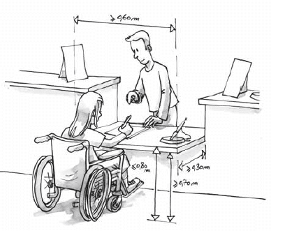accessibilité handicape accueil