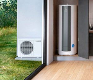 Chauffe eau installation acoustique