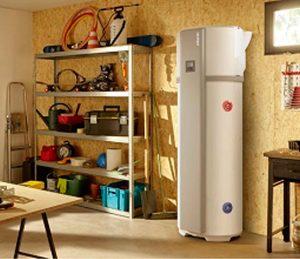 Chauffe eau acoustique air extérieur ou ambiant
