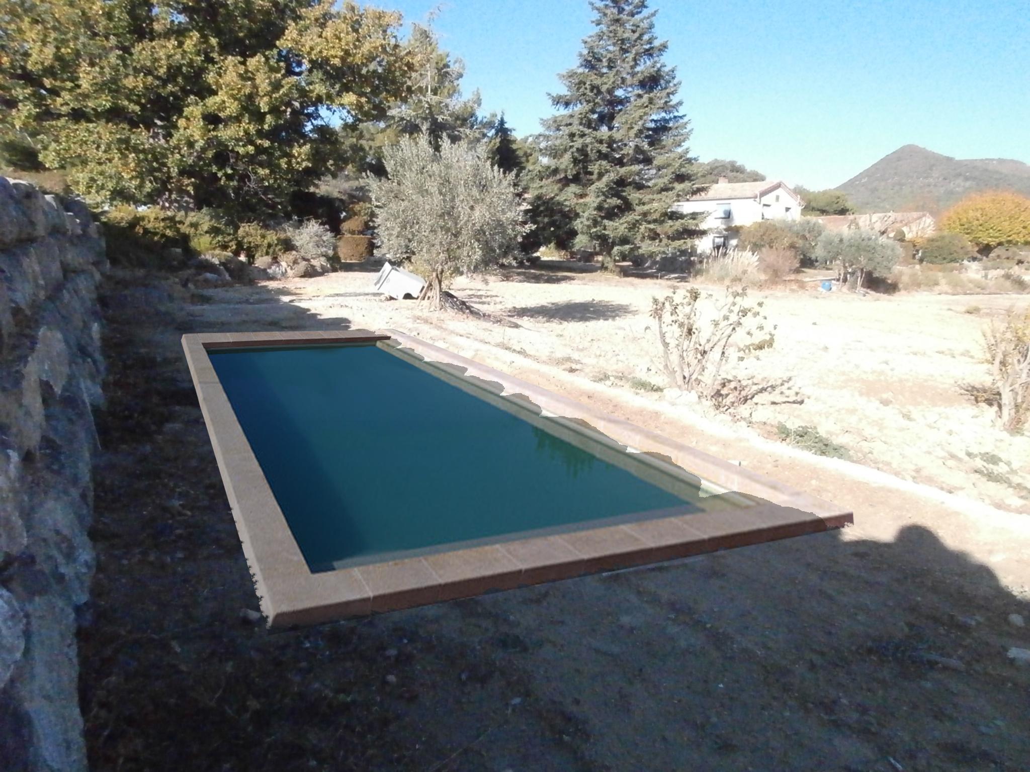 dossier déclaration d'une piscine à Puyméras