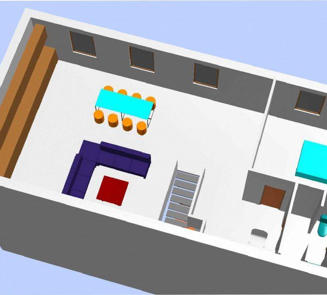 plan 3d etage