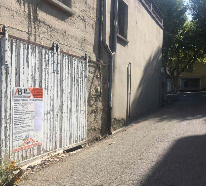 panneau affichage permis de construire
