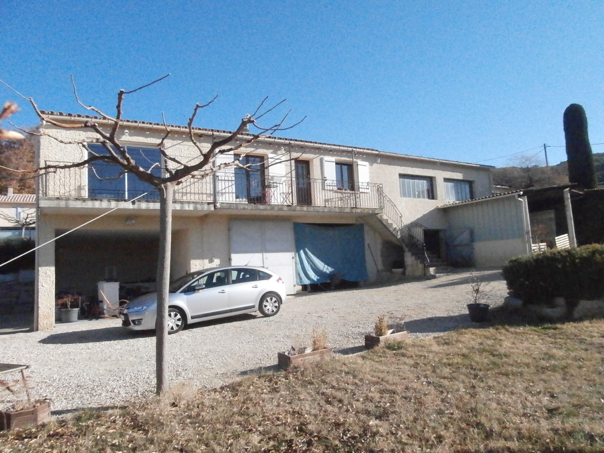 Etat initial Permis Construire Changement Destination hangar en habitation St Romain