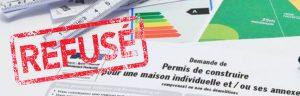 que faire en cas de refus de permis de construire?