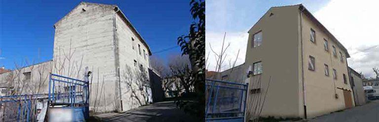 Changement de destination local commercial en habitation a Valreas