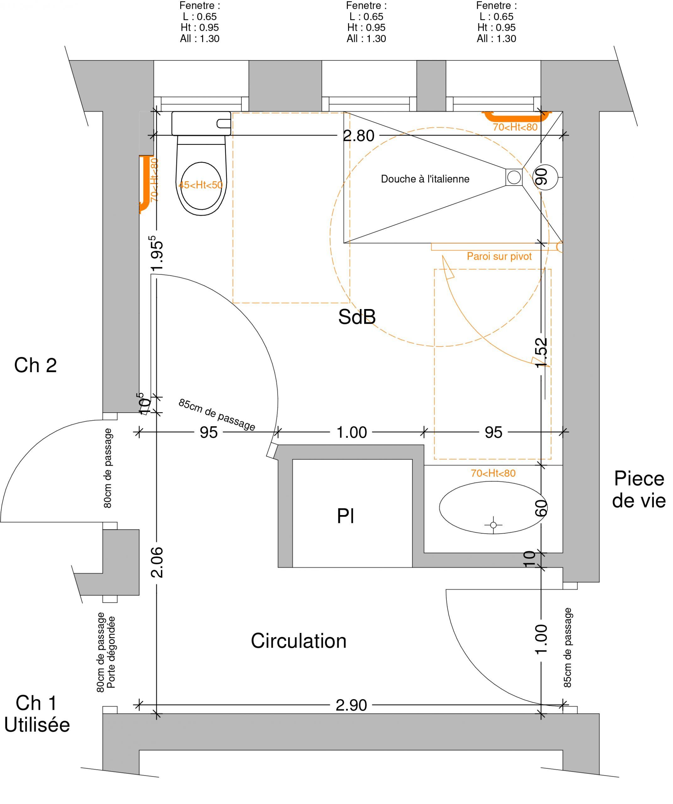 aménagement salle de bain st marcellin les vaison