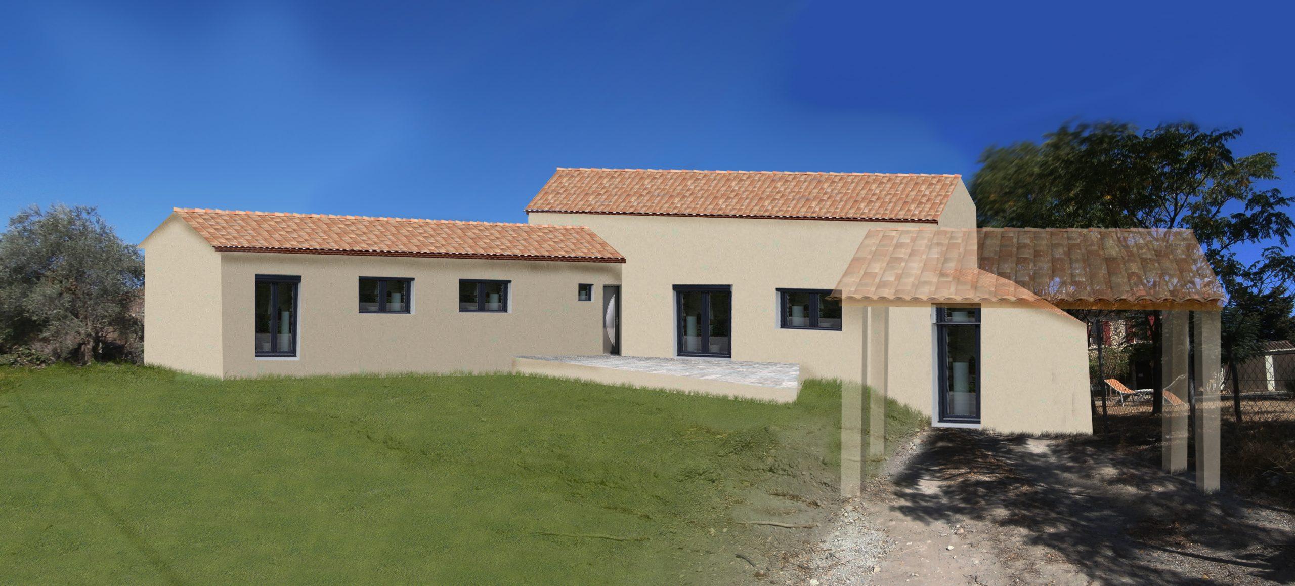 dessinateur en batiment Permis de construire pour maison à Piolenc