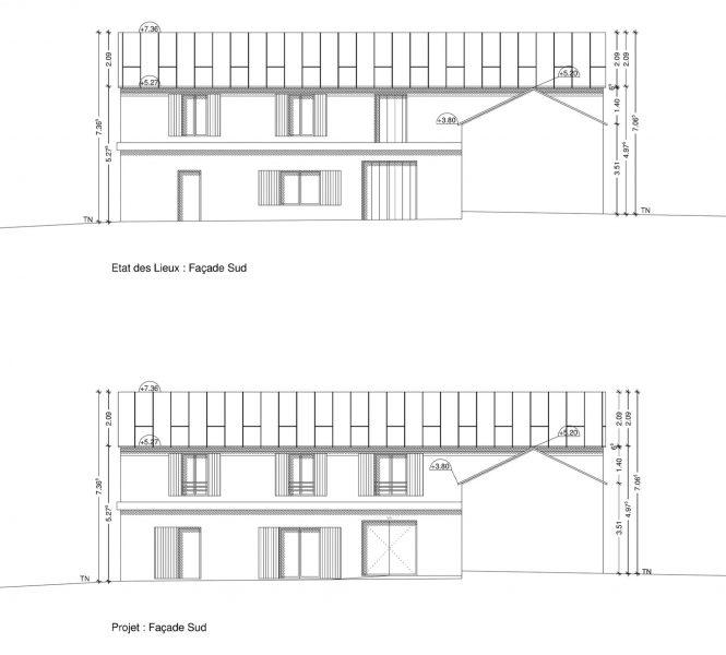 Création de chambre d'hôtes permis de construire