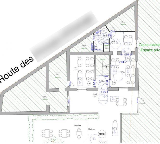 Accessibilité Handicapé Restaurant Roaix