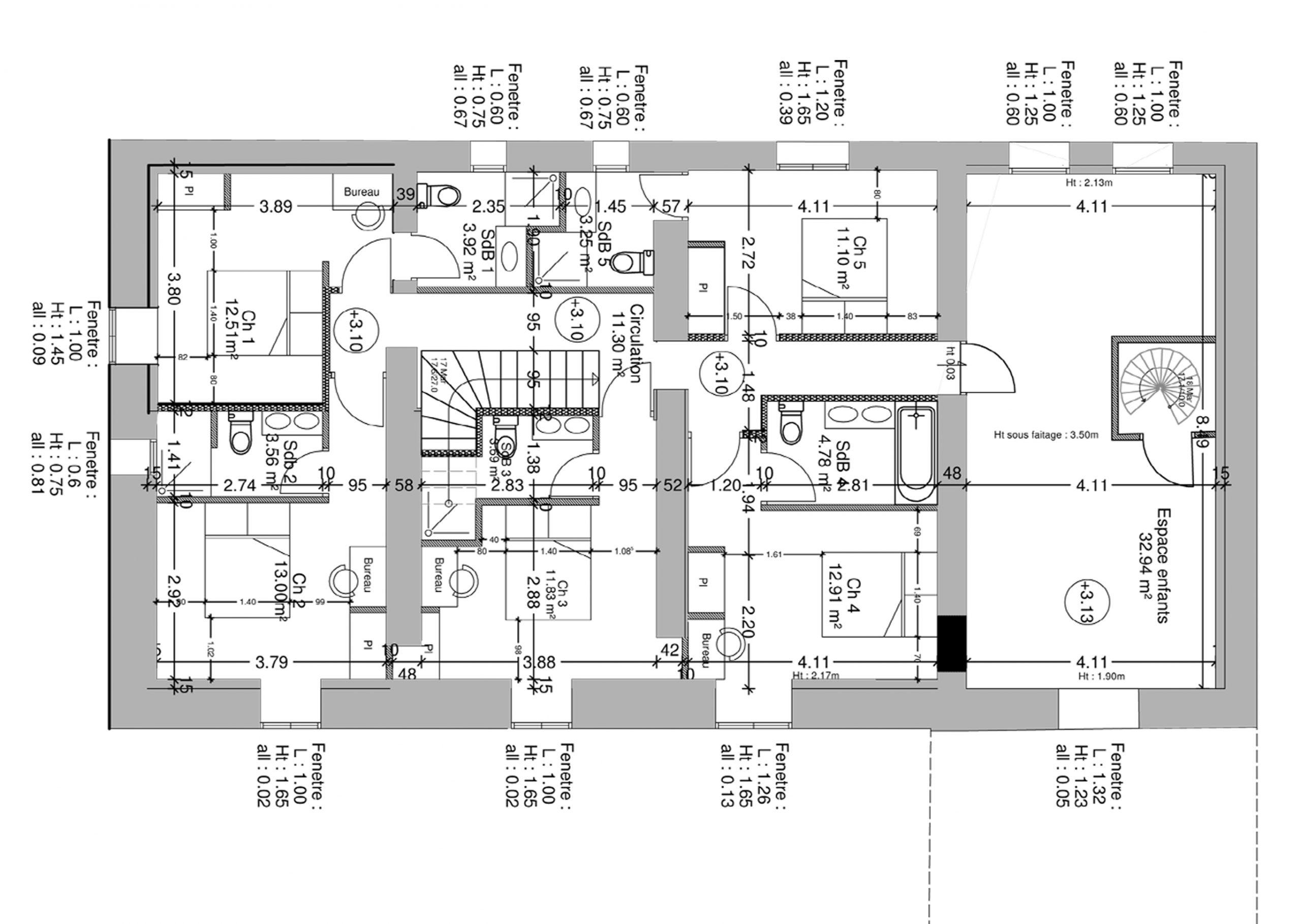 aménagement création de chambre d'hôtes
