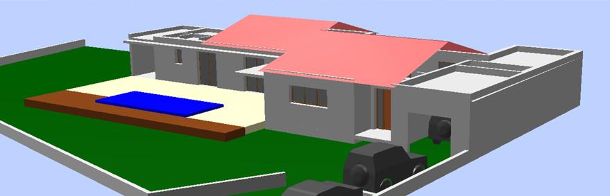 Permis de construire à Piolenc Maison contemporaine