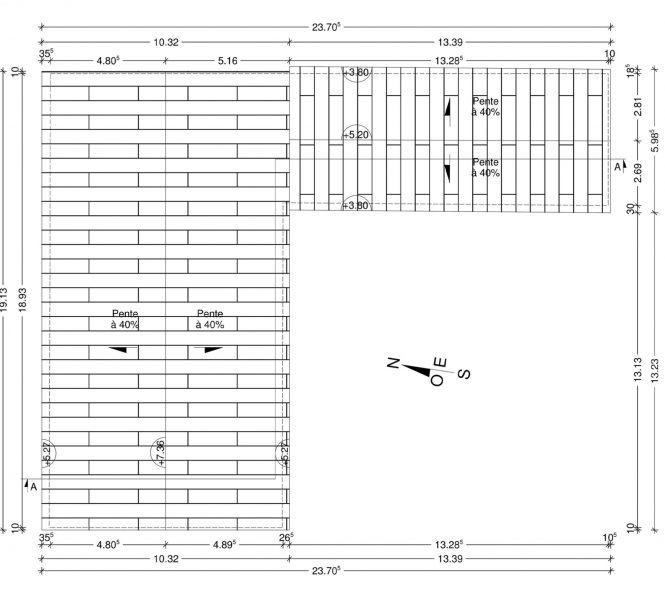 toiture PCMI 5 permis de construire
