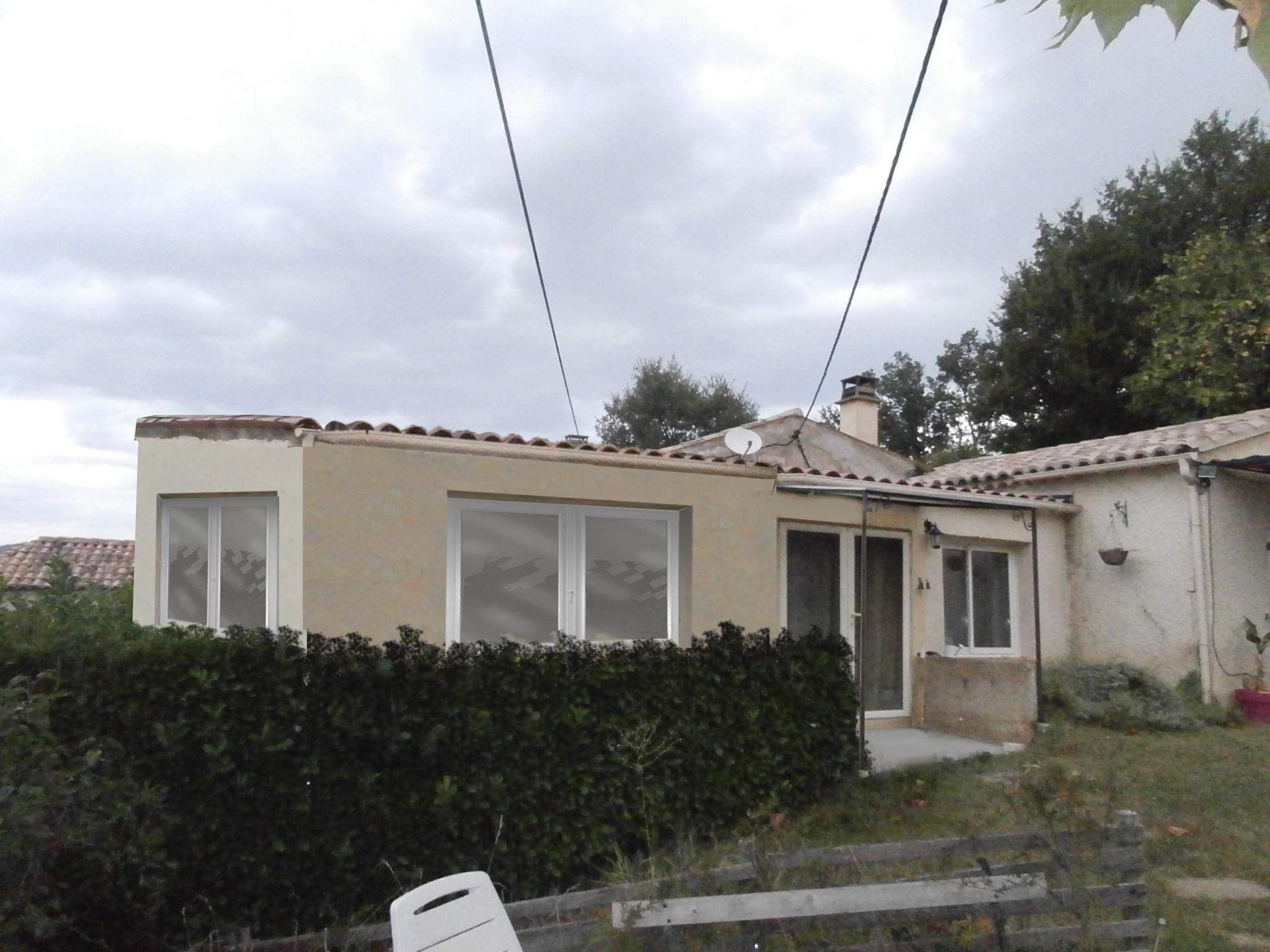 permis de construire Création Vérandas St Romain en Viennois