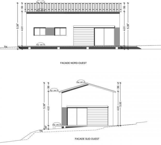 facades permis de construire Entrechaux
