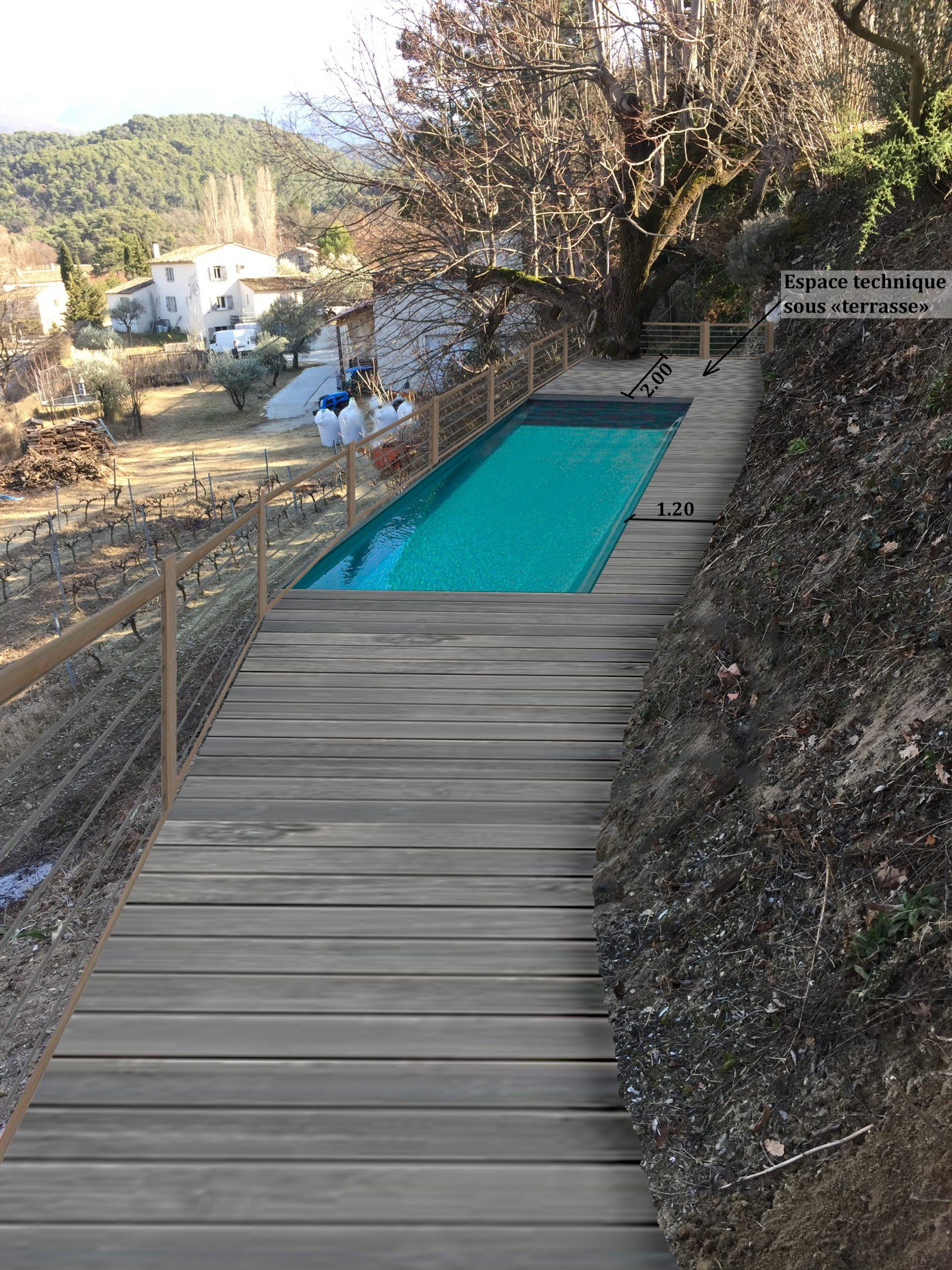 Déclaration préalable d'une piscine