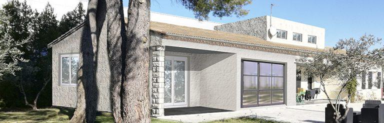 permis de construire Extension maison Entraigues sur la Sorgues