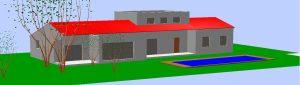 Vue en plan 3D
