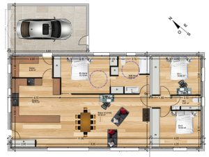 plan Permis de construire maison individuelle