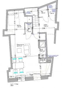plan aménagement appartement