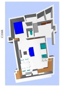 plan d'aménagement 3D