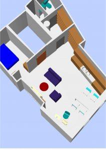 aménagement 3D création appartement