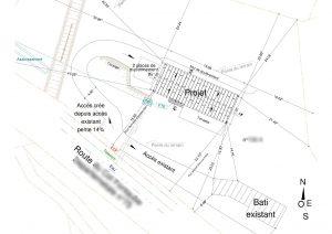 plan de masse permis de construire Eygaliers
