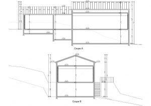 plan de coupe permis de construire maison