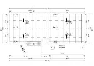 plan de toiture Déposer un permis de construire Eygaliers
