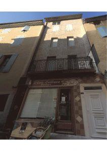 plan de façade de Diviser une maison en appartements Nyons